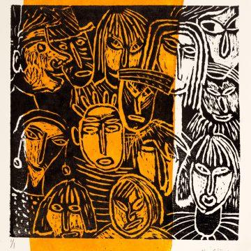 """Maj Ström """"Many Faces"""""""