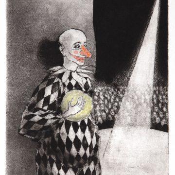"""Helen Rex """"Clown I et II"""""""