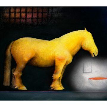 "Bertil Vallien ""Yellow I"""