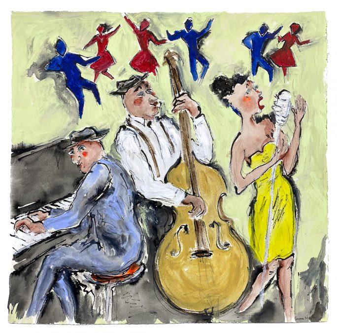 "Susanne Nyholm ""Jazzdans"""