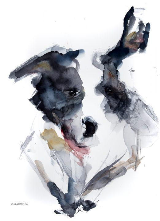 """Magdalena Malmvall-Nisses """"Den största och snyggaste hunden"""""""