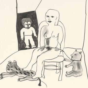 "Ulrica Hydman Vallien ""Teckning"""